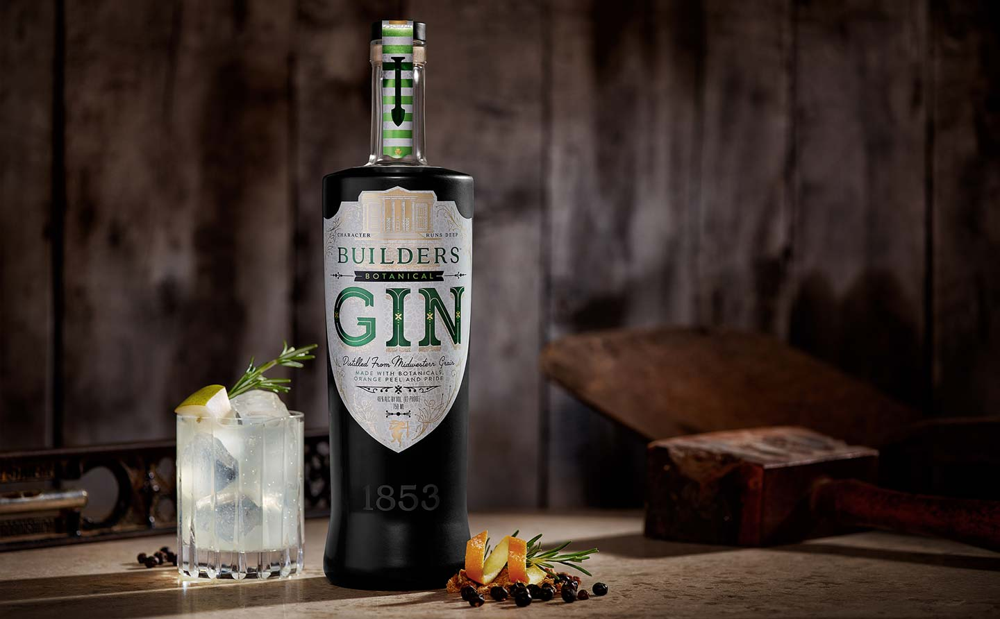 Builders Botanical Gin