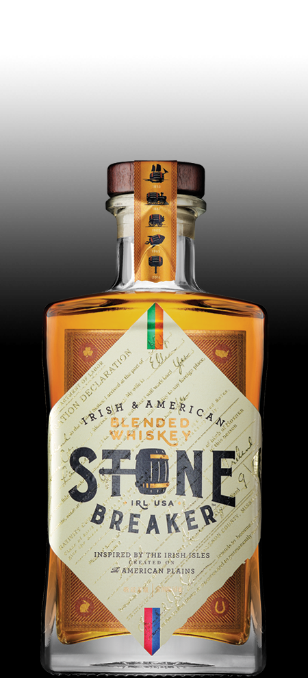 Irish & American Blended Whiskey, Stone Breaker